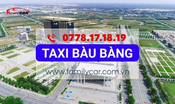 Dịch Vụ Taxi Bàu Bàng Bình Dương