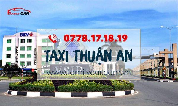 Taxi Thuận An Uy Tín Chất Lượng Chuyên Nghiệp
