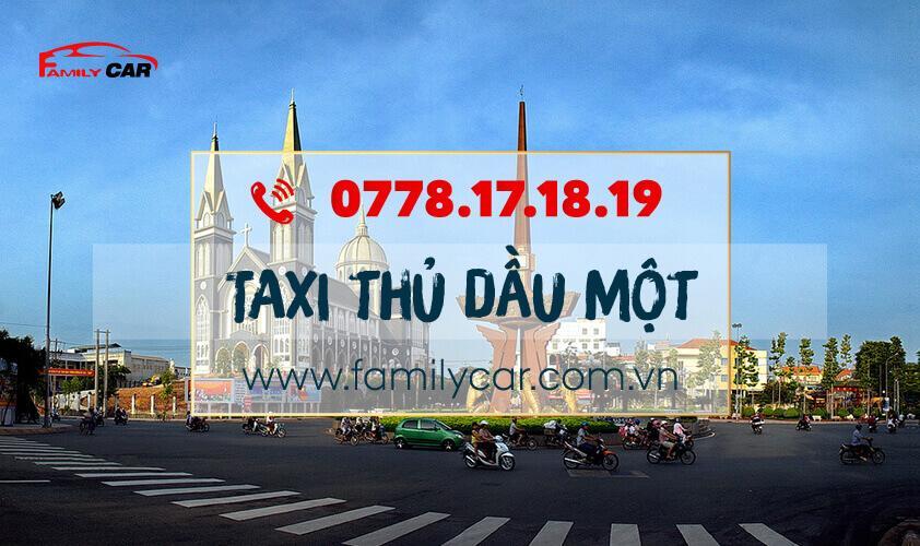Dịch Vụ Taxi Thủ Dầu Một Bình Dương