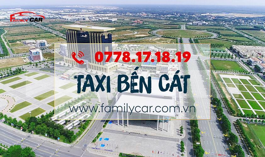 Tổng Đài Dịch Vụ Taxi Bến Cát Family Car