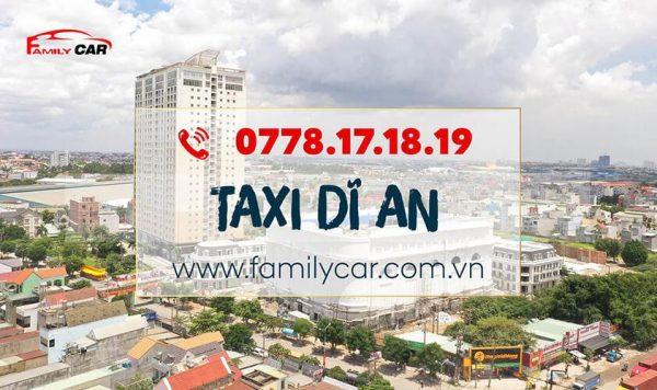 Tổng Đài Taxi Dĩ An