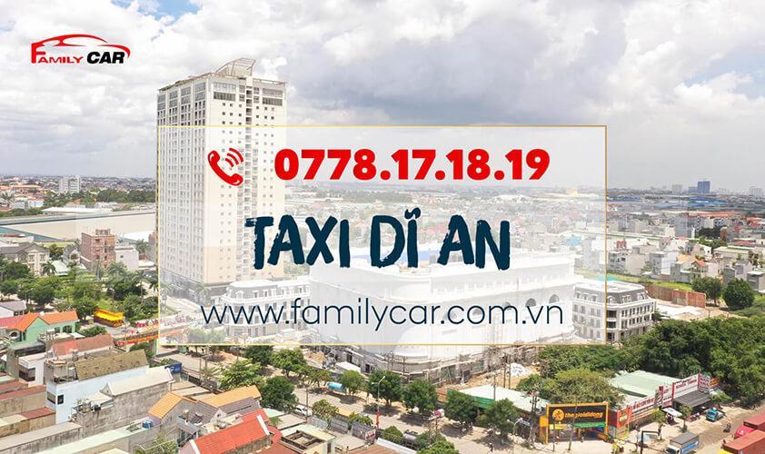 Dịch Vụ Taxi Dĩ An Bình Dương