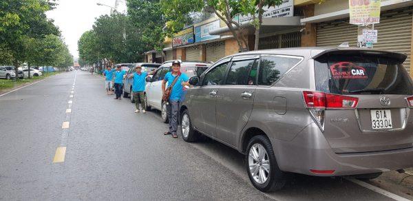 Các dòng xe gia đình được Taxi Thuận An