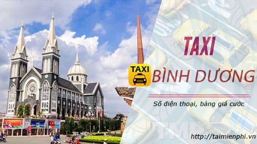 taxi hợp đồng tại bình dương