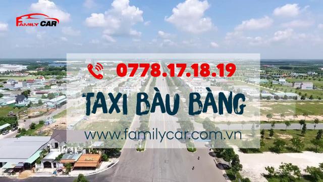 Tổng Đài Taxi Bàu Bàng