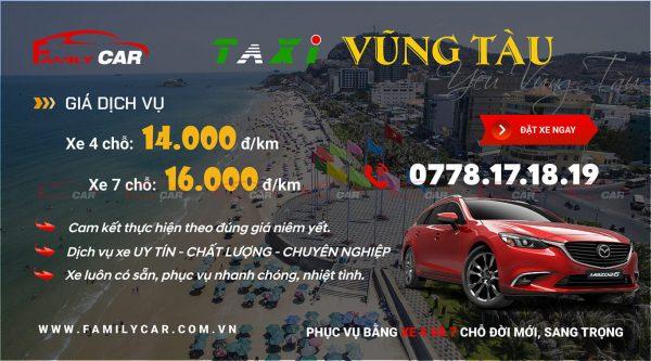 Bảng Giá Taxi Vũng Tàu
