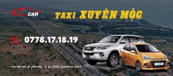 Dịch Vụ Taxi Xuyên Mộc Bà Rịa