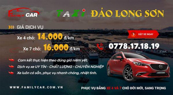Bảng Giá Taxi Long Sơn - Vũng Tàu