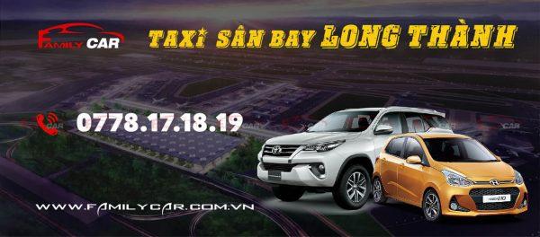 Dịch Vụ Taxi Sân Bay Long Thành