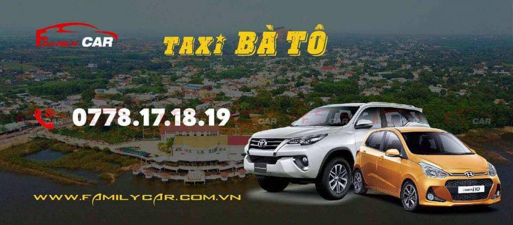 Dịch Vụ Taxi Bà Tô