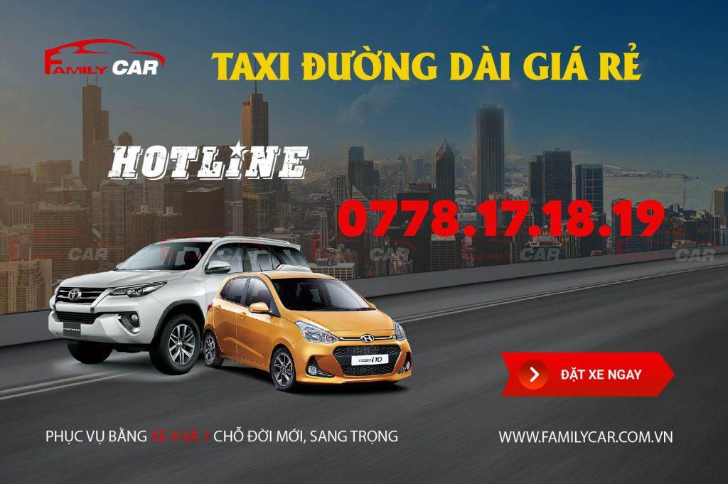 Tổng đài taxi đường dài giá rẻ