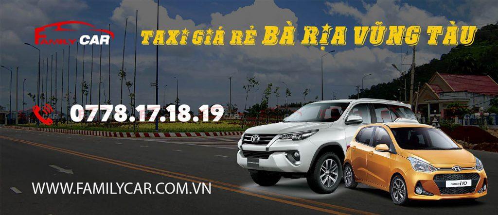 Tổng đài taxi giá rẻ Bà Rịa Vũng Tàu