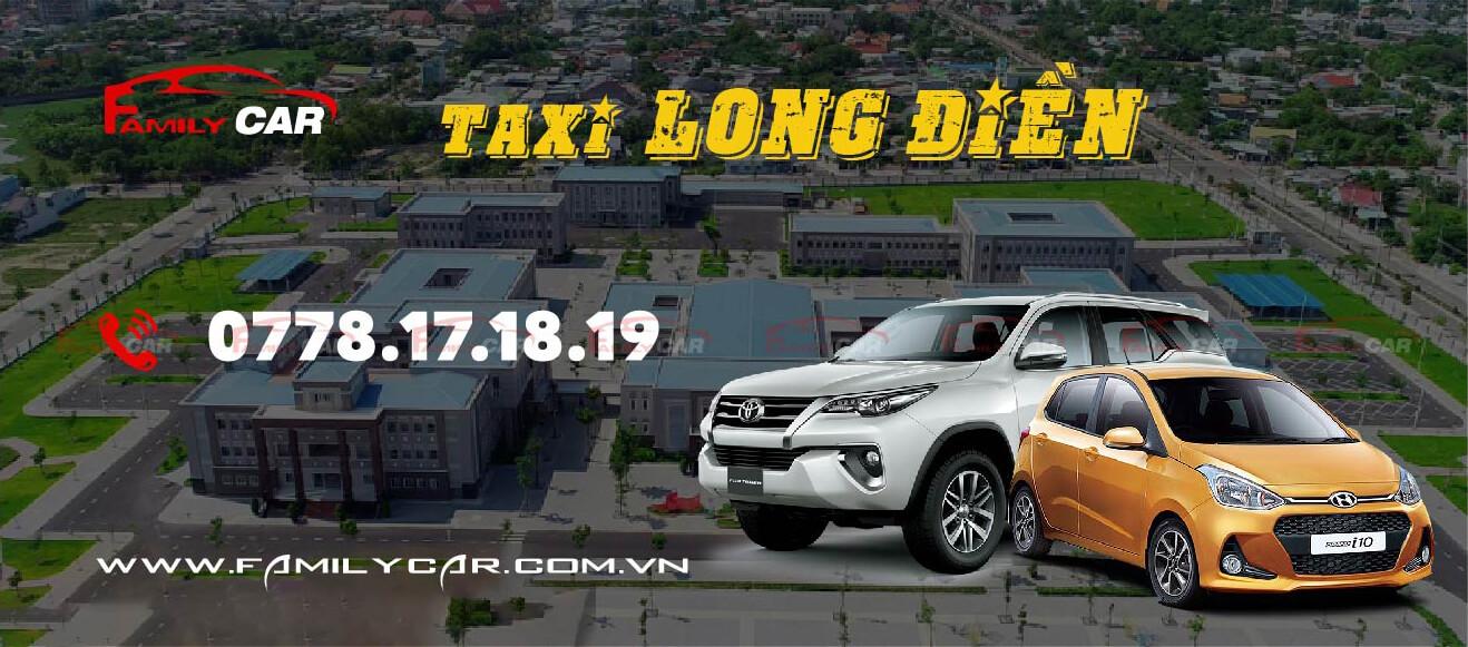dịch vụ taxi long điền