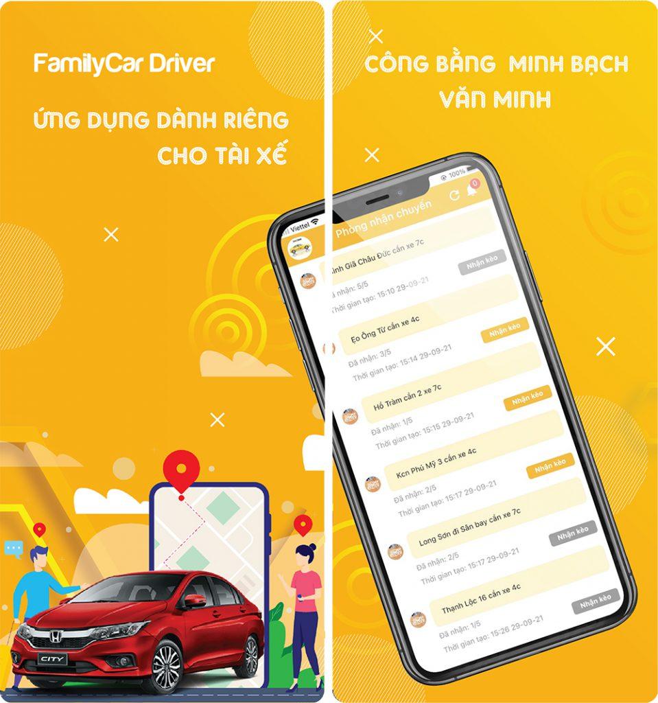Ưu điểm FamilyCar Driver